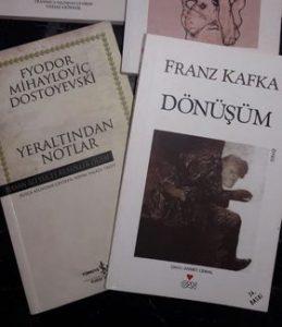 Kafka/ dönüşüm/ dostoyevski/ yeraltından notlar/ varoluşçuluk